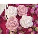 Pochon de 4 roses anciennes