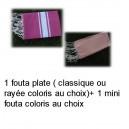 Fouta plate+ mini fouta