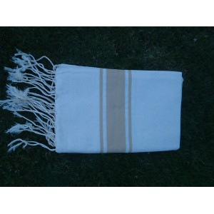 Fouta sable-beige
