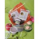 Kit Recette Masque exfoliant visage Pomme, Olive et Avocat